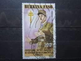 "VEND BEAU TIMBRE DU BURKINA FASO N° 829 , OBLITERATION "" OUAGADOUGOU "" !!! (b) - Burkina Faso (1984-...)"