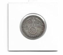2 REICHSMARKS ARGENT HINDENBURG 1939 - [ 4] 1933-1945: Drittes Reich