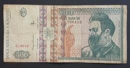 RS - Romania 500 Lei Banknote 1992 #G.0040 - Romania