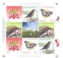 2016. Mountainous Karabakh, Flora & Fauna Of Karabakh, Sheetlet,  Mint/** - Armenien