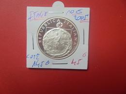ITALIE 10 EURO 2005 ARGENT COTE :145 EURO (A.6) - Italy