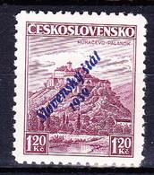 Slovaquie 1939 Mi 13 (Yv 12), MNH)** - Nuovi