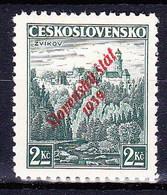 Slovaquie 1939 Mi 16 (Yv 15), MNH)** Signé - Slowakije