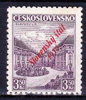 Slovaquie 1939 Mi 19a (Yv 18), MNH)** Signé, Pd De Gomme - Nuovi