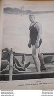 1900 Mr JARVIS - CHAMPION AMATEUR DE NATATION - 1000 ET 4000 METRES - Books, Magazines, Comics