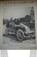 1902 COURSE AUTOMOBILE PARIS VIENNE - MARCEL RENAULT - SALZBOURG - DARRACQ - GORGE DE L'ARLBERG - Newspapers