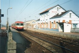 PHOTO 15 X 10 DE  BAUVIN PROVIN LA GARE TRAIN - France