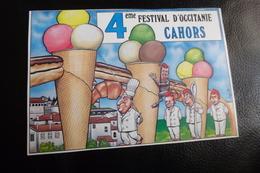 BELLE ILLUSTRATION HUMORISTIQUE ...4E FESTIVAL D'OCCITANIE...CAHORS 1988 - Veyri, Bernard