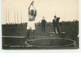 Jeux Olympiques 1924 - Colombes - Lancement Du Disque - Olympic Games