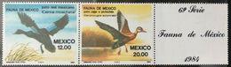 129.MEXICO 1984 SET/2 STAMP BIRDS . MNH - Mexiko