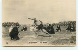 Jeux Olympiques 1924 - Colombes - Lancement Du Poids - Olympic Games