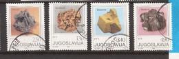 1 - YU  JUGOSLAWIEN JUGOSLAVIJA   MINERALI  USED - Mineralien