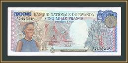 Rwanda 5000 Francs 1988 P-22 (22a) UNC - Rwanda