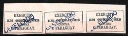 535 - BRASIL - 1865 - PARAGUAY WAR - FORGERIES, FALSES, FALSCHEN, FAKES, FALSOS - Timbres