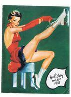 Programme SHOLIDAY ON ICE 1953 Charme Et Beauté JACQUELINE DU BIEF, RIA BARAN & PAUL FALK - Programs