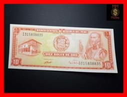 PERU 10 Soles De Oro 4.5.1972  P. 100  UNC - Peru