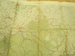 Topografische Kaart Limbourg Hergenrath Moresnet Eupen Militaire - Mapas Topográficas