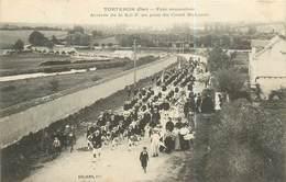 18  TORTERON - FETE MUTUALISTE ARRIVEE DE LA S.G.F AU PONT DU CANAL SAINT LOUIS - France