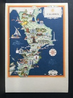 """CALABRIA........Cartolina Della Serie """" Le Regioni D'Italia """" - Italy"""