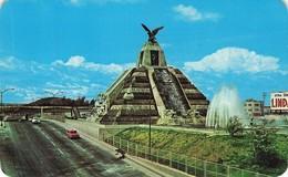 CPSM - Mexique - Monumento A La Raza En La Ciudad De Mexico - Foto Mark Turok - México