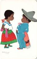 CPSM - Illustrateur Mexique - Betanzos - México