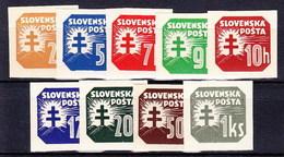 Slovaquie 1939 Mi 54-65 X (Yv TPJ 10-18), MNH)** - Nuovi
