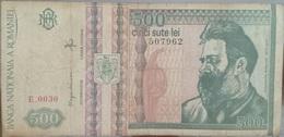 RS - Romania 500 Lei Banknote 1992 #E.0030 - Romania