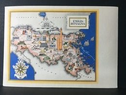 "EMILIA - ROMAGNA..........Cartolina Della Serie "" Le Regioni D'Italia "" - Italia"