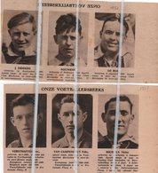 VOETBALSPORT.1931.RACING CLUB MECHELEN .DIDDENS/LIJERS/VAN DE MERT/VERBIST/VERLINDEN/HAMERS/DE ROM/NOUWENS/MICHIELS - Unclassified