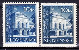 Slovaquie 1940 Mi 70 Y+Z (Yv 53), MNH)** - Nuovi