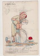 Cpa Fantaisie.L.Chagny , Dessin., édit.Alger / Le Barbier Maure - Chagny