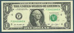 USA Billet 1 Dollar 2013 - Stati Uniti