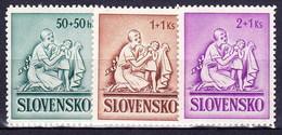 Slovaquie 1941 Mi 91-3 (Yv 61-3), MNH)** - Nuovi
