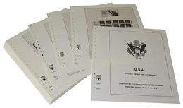 USA Stamp Booklet And Vending Machine Foil Sheets - Supplement Year 2018 - Albums & Binders