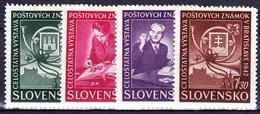 Slovaquie 1942 Mi 98-101 (Yv 70-3), MNH)** - Nuovi