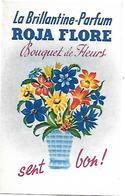 Carte Parfumée - ROJA FLORE - Bouquet De Fleurs - La Brillantine Parfum - - Perfume Cards