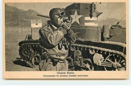 Général Patton - Commandant Les Divisions Blindés Américaines - Equipment