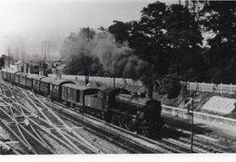 PHOTO 17 X 12 DE  DOUAI NOIR ET BLANC TRAIN A VAPEUR 1958 - Douai