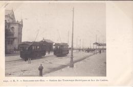 BOULOGNE Sur MER. Station Des Tramways électriques Face CASINO. PIONNIERE. - Boulogne Sur Mer