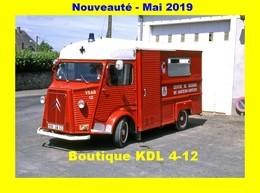 AL - Lot De 6 Cartes Postales Modernes - Véhicules Des Sapeurs-Pompiers De France - 80 SP à 85 SP - Sapeurs-Pompiers