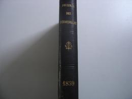 JOURNAL DES DEMOISELLES Annee 1859 Reliee MODES PLANCHES COULEURS Fashion - 1801-1900