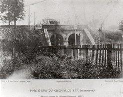PHOTO 17,5 X 14 PORTE SUD DE  DOUAI NOIR ET BLANC PORTE SUD - Douai
