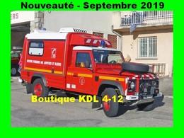 AL - Lot De 6 Cartes Postales Modernes - Véhicules Des Sapeurs-Pompiers De France - 86 SP à 91 SP - Firemen