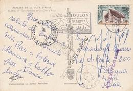 RONCHAMP 40C SUR CPM 18/8/66 POUR ITALIE  AVEC RETOUR A L ENVOYEUR DESTINATAIRE INCONNU - 1961-....