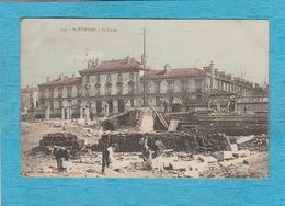 Saint-Étienne. - Le Lycée. - Gros Chantier. - Saint Etienne