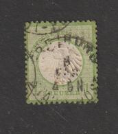 ALLEMAGNE . EMPIRE -- 7 Ou 20  De 1872  - Oblitéré  -  1.k . Vert-jaune  - 2 Scannes - Gebruikt