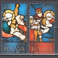Poland  2014 - Christmas - Mi.4744-45 - Used - Used Stamps