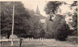 MARCHE LES DAMES : 2 Cartes Du Château D'Arenberg Dont Une Vue Du Terrain De Parade Avec Militaire Sonnant Le Clairon - Namur