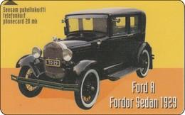 Finnland Phonecard   Auto Car  Ford A 1929 - Auto's