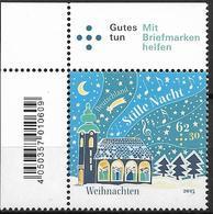 """2015  Allem. Fed.  Deutschland Mi. 3183**MNH EOL  Weihnachtslied """"Stille Nacht"""" Schallt Aus Kirche In Winterlandschaft - [7] Repubblica Federale"""
